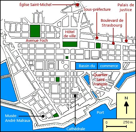 Plan Detaille Centre Ville Strasbourg