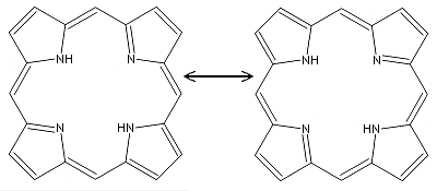 Porphin resonance structures.PNG