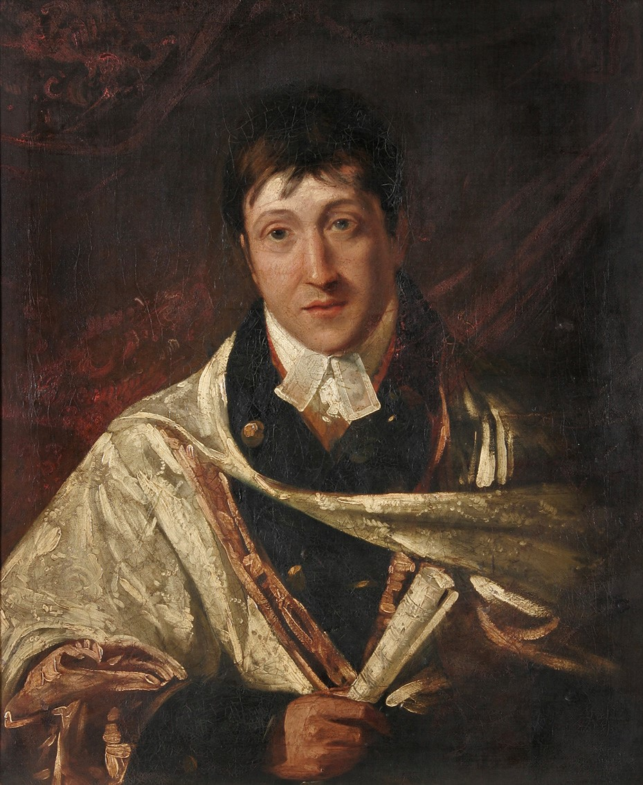 Portrait of William Crotch (undated), Norfolk Museums Collections