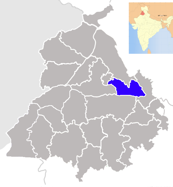 Shahid Bhagat Singh Nagar district - Wikipedia, the free encyclopedia