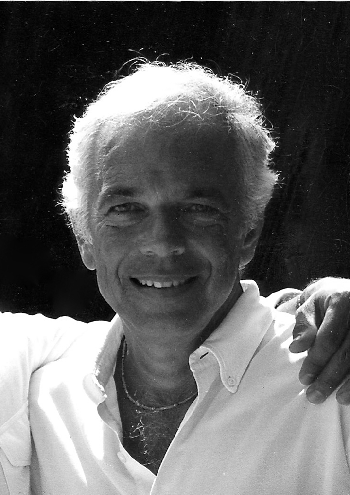 Photo of Calvin Klein & his friend designer  Ralph Lauren -