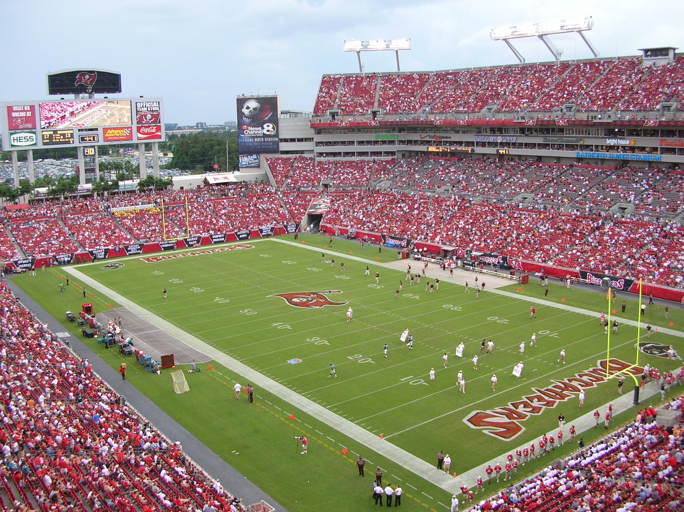 5153dd5eb Raymond James Stadium - Wikipedia