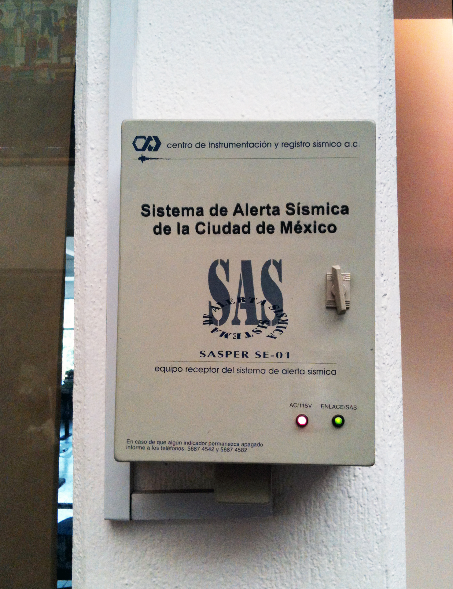 File:Receptor del Sistema de Alerta Sísmica para la Ciudad ...