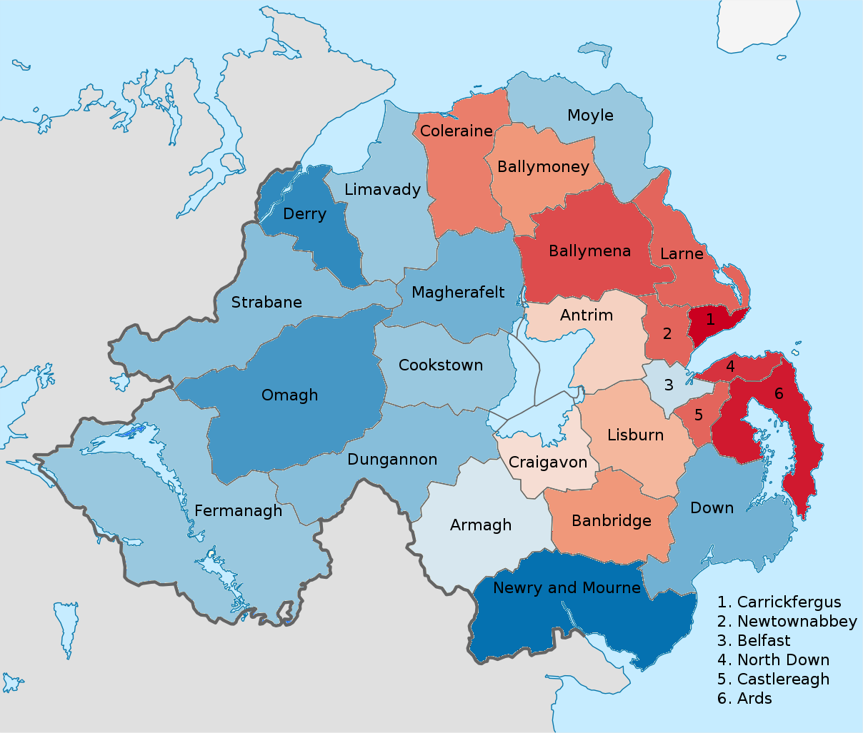 an overview of the religions in northern ireland There are different levels of government in northern ireland this ranges from your local council, the northern ireland assembly, to the european parliament and uk parliament at westminster.