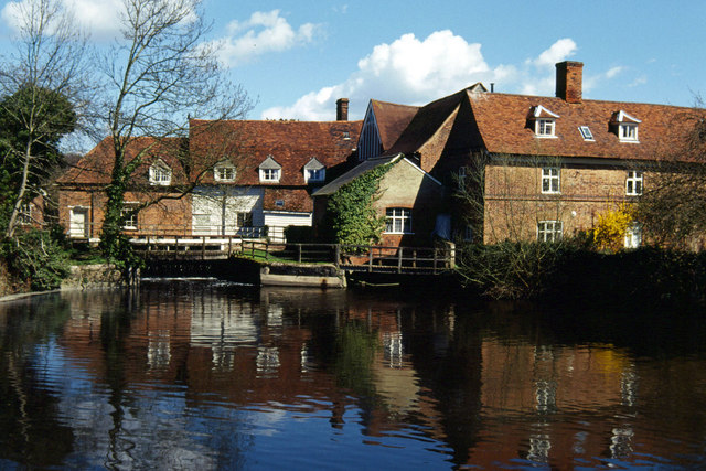 River Stour, Flatford Mill - geograph.org.uk - 158156
