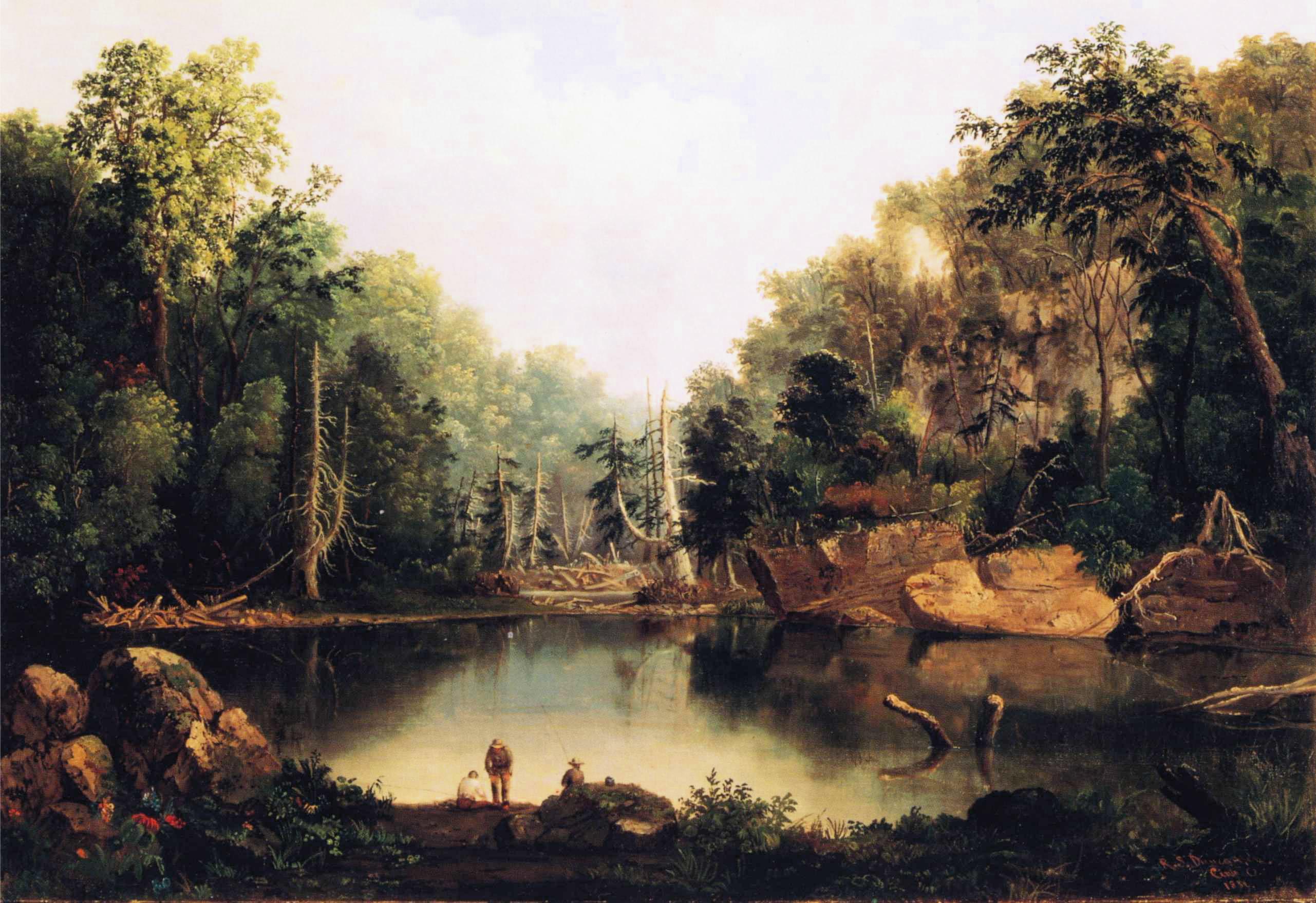 http://upload.wikimedia.org/wikipedia/commons/d/da/Robert_Duncanson_-_Blue_Hole%2C_Little_Miami_River.JPG
