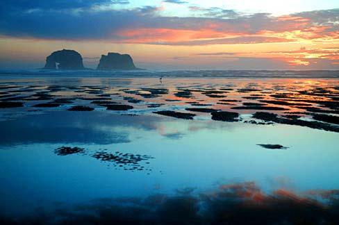 File Rockaway Beach Sunset Tillamook County Oregon Scenic Images Tild0042