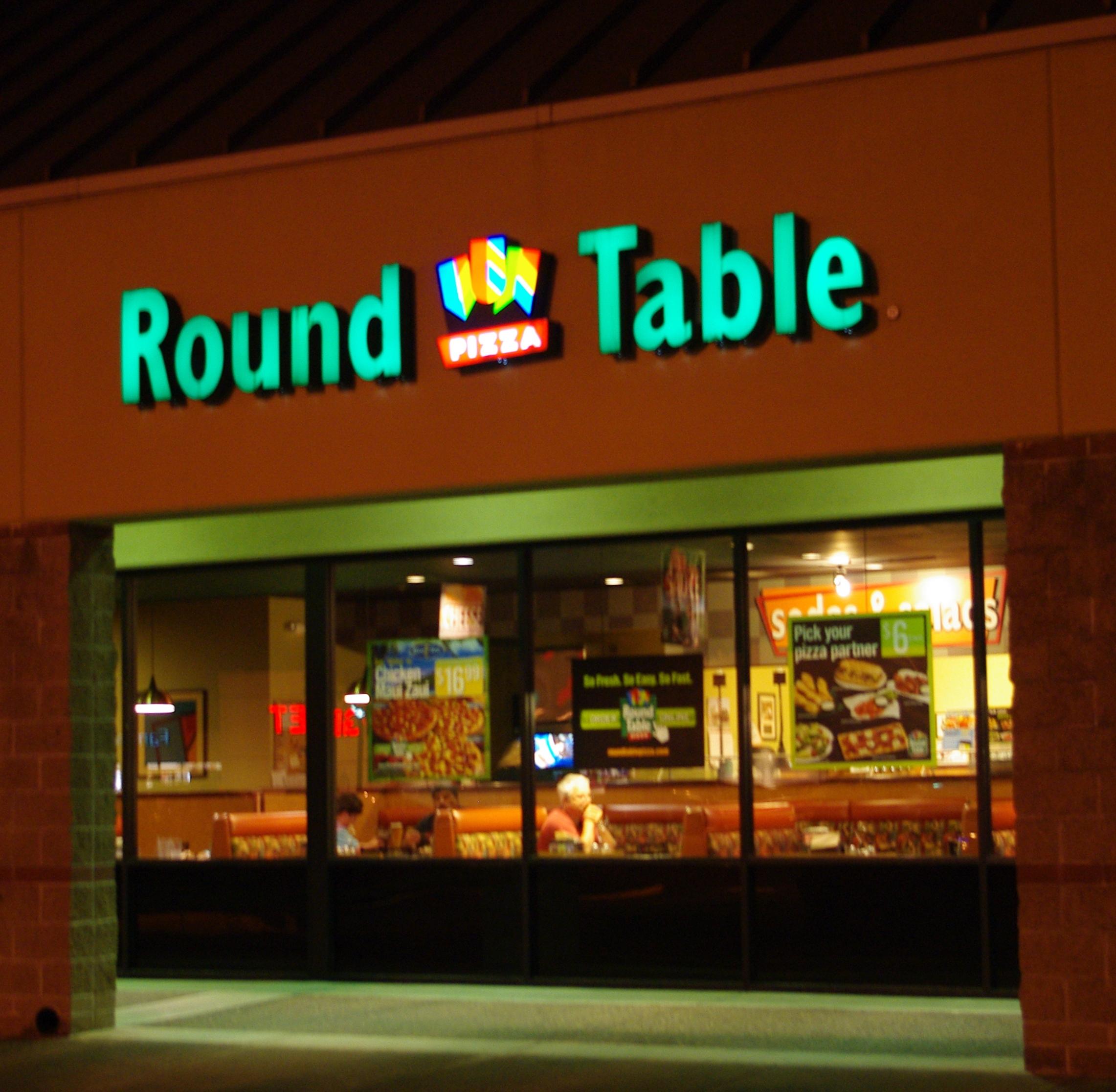 Round Table In Kitchen
