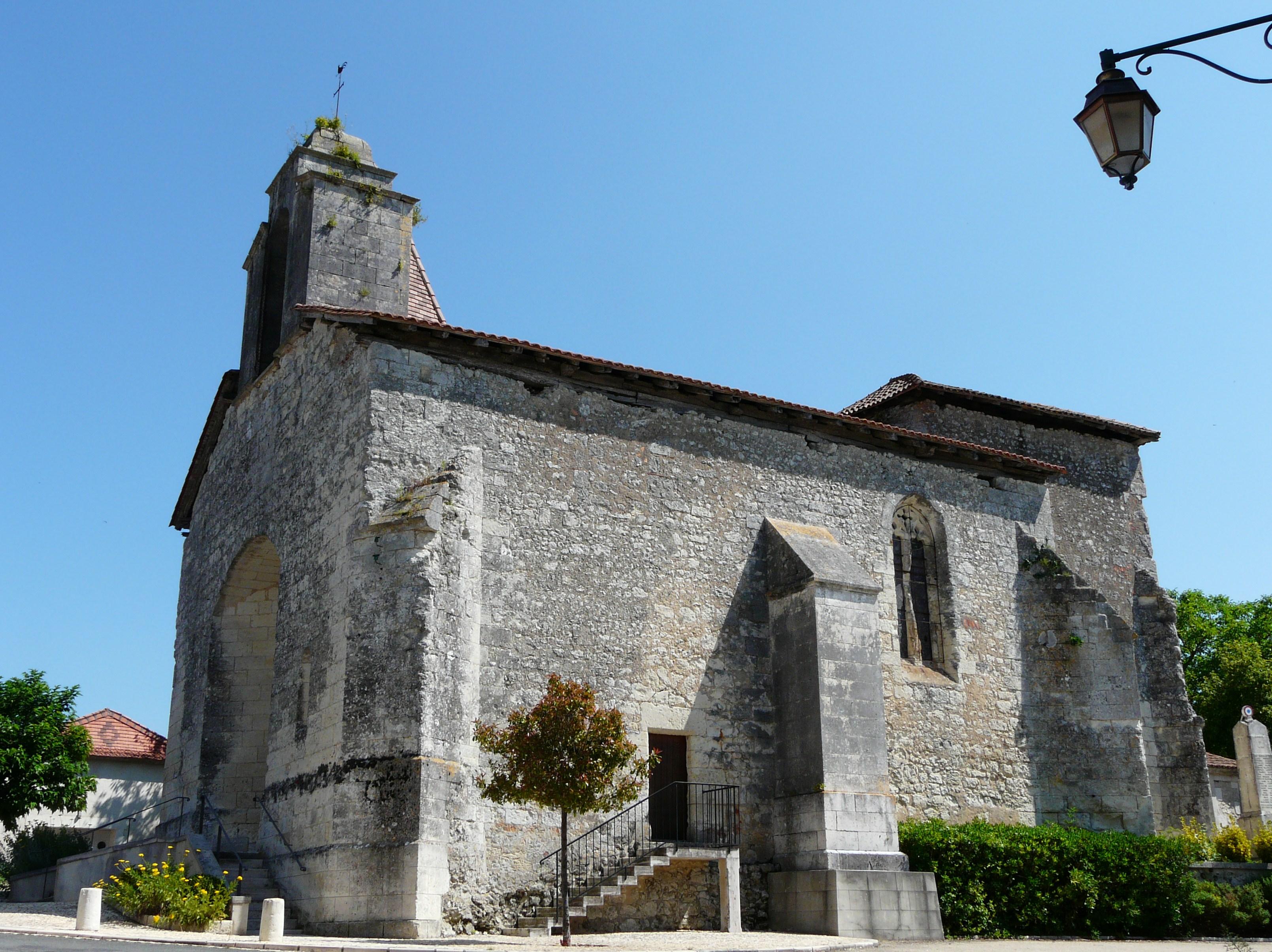 Kirken Saint-Pardoux i Saint-Pardoux-de-Drône