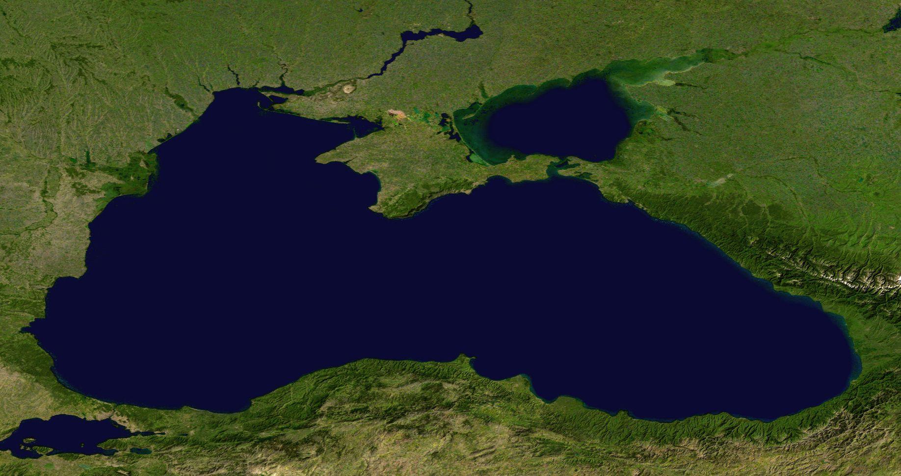 Land Am Schwarzen Meer