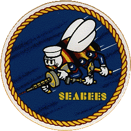 Badge des Seabees
