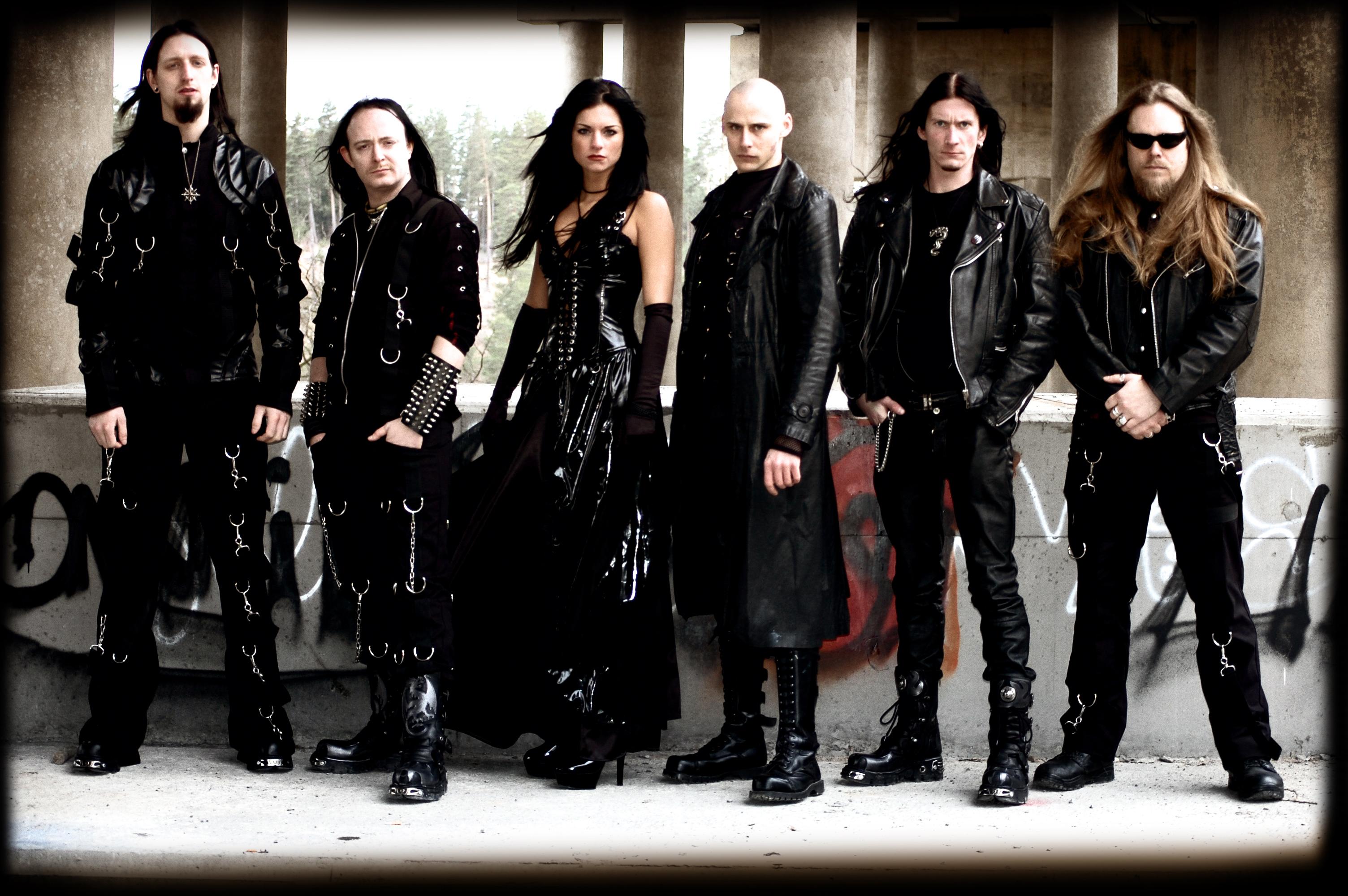 Metal band mit sängerin