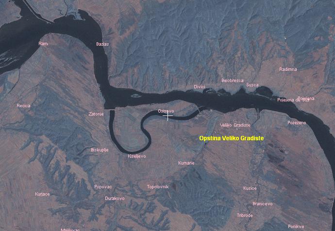 Flüsse und seen in serbien » srebrno jezero (silbersee)