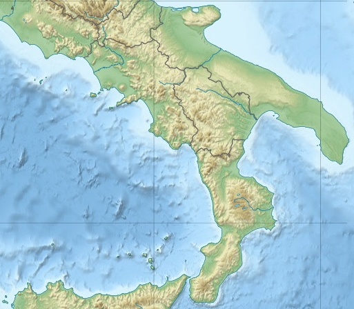 Datei:Southern Italy relief location map.jpg
