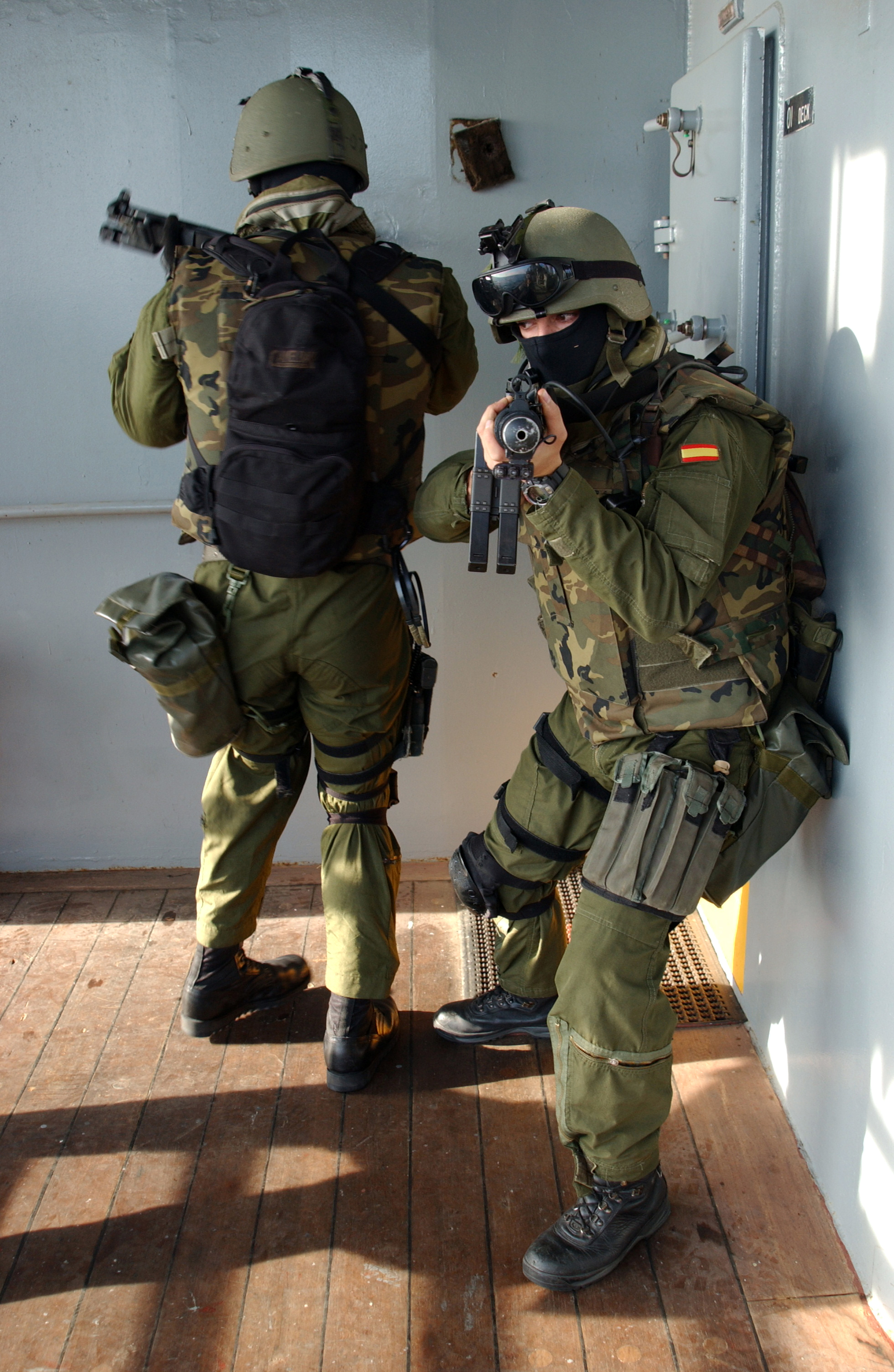 Heckler & Koch MP5 Spanish_Special_Forces