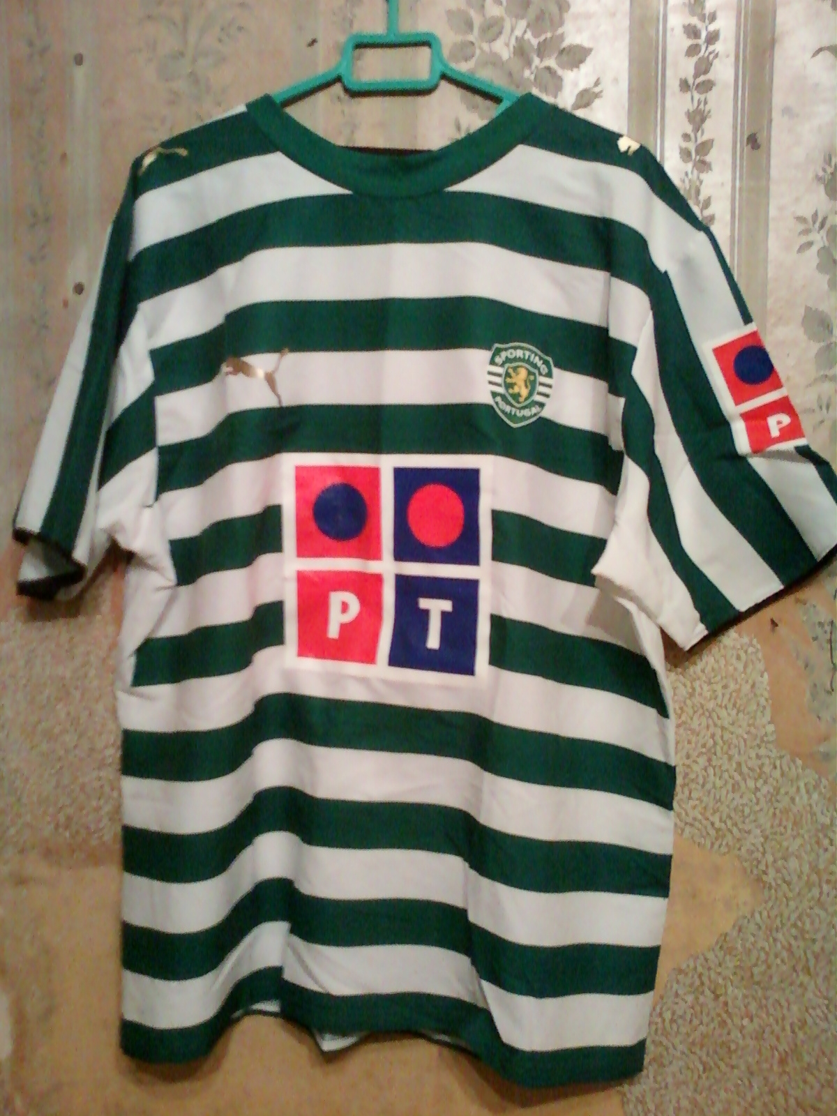 Maillot Sporting CP de foot