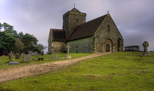 St Martha's Church on the Hill - geograph.org.uk - 1095585