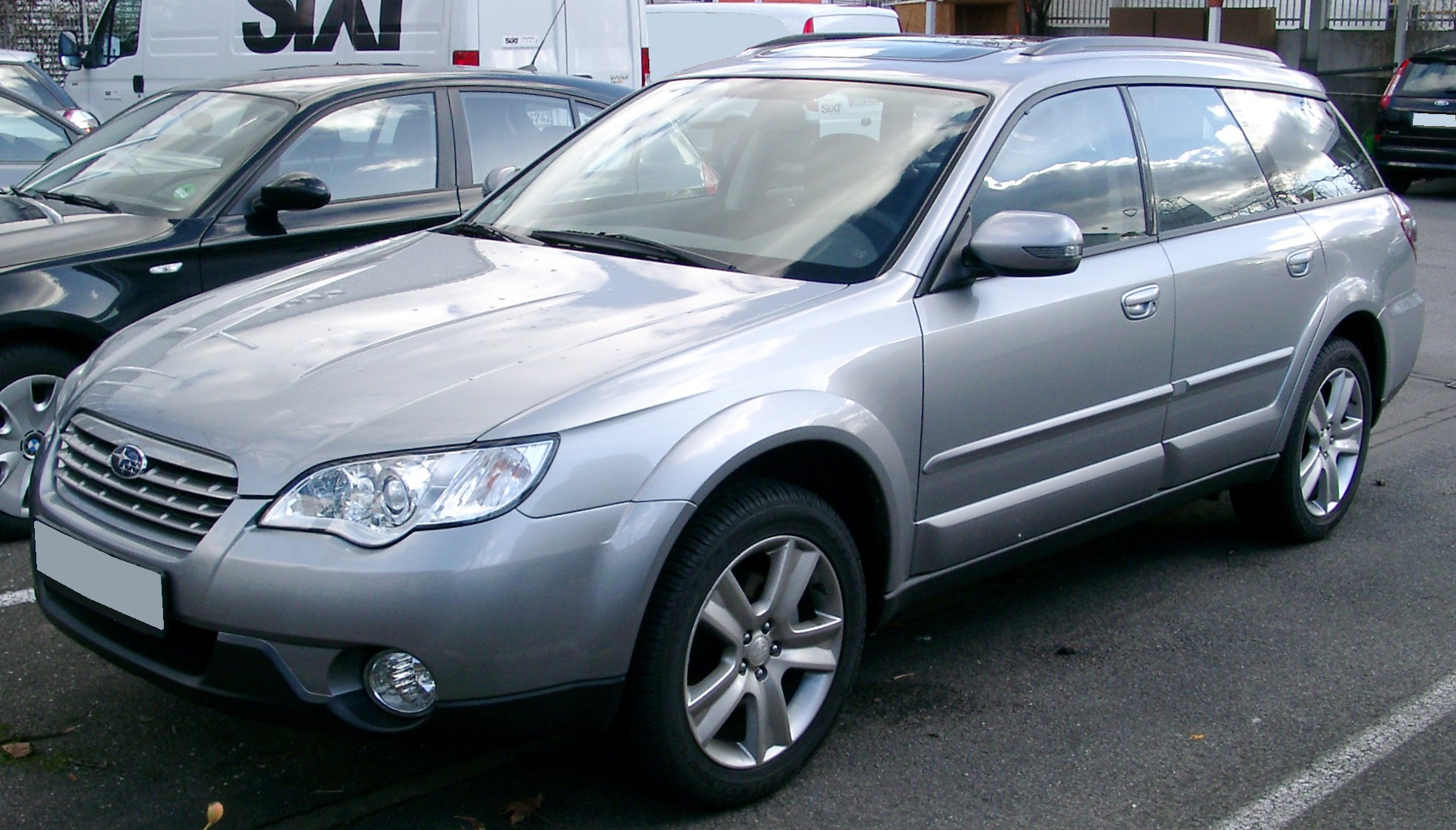File Subaru Outback Front 20080202 Jpg Wikimedia Commons