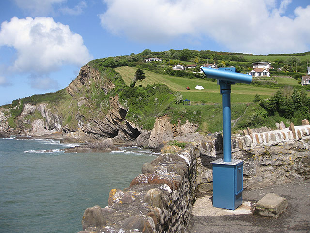 Telescope at Combe Martin - geograph.org.uk - 1318238