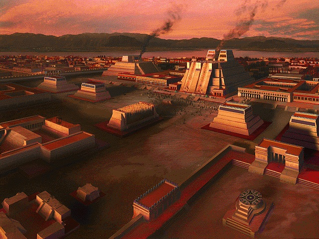 a description of the city of tenochtitlan in mesoamerica Houghton mifflin social studies across the centuries understanding primary sources: cortés visits tenochtitlán objective: students analyze a description of the aztec capital written by spanish conquistador hernando cortés and use it to create their own 3-d model of the imperial city.