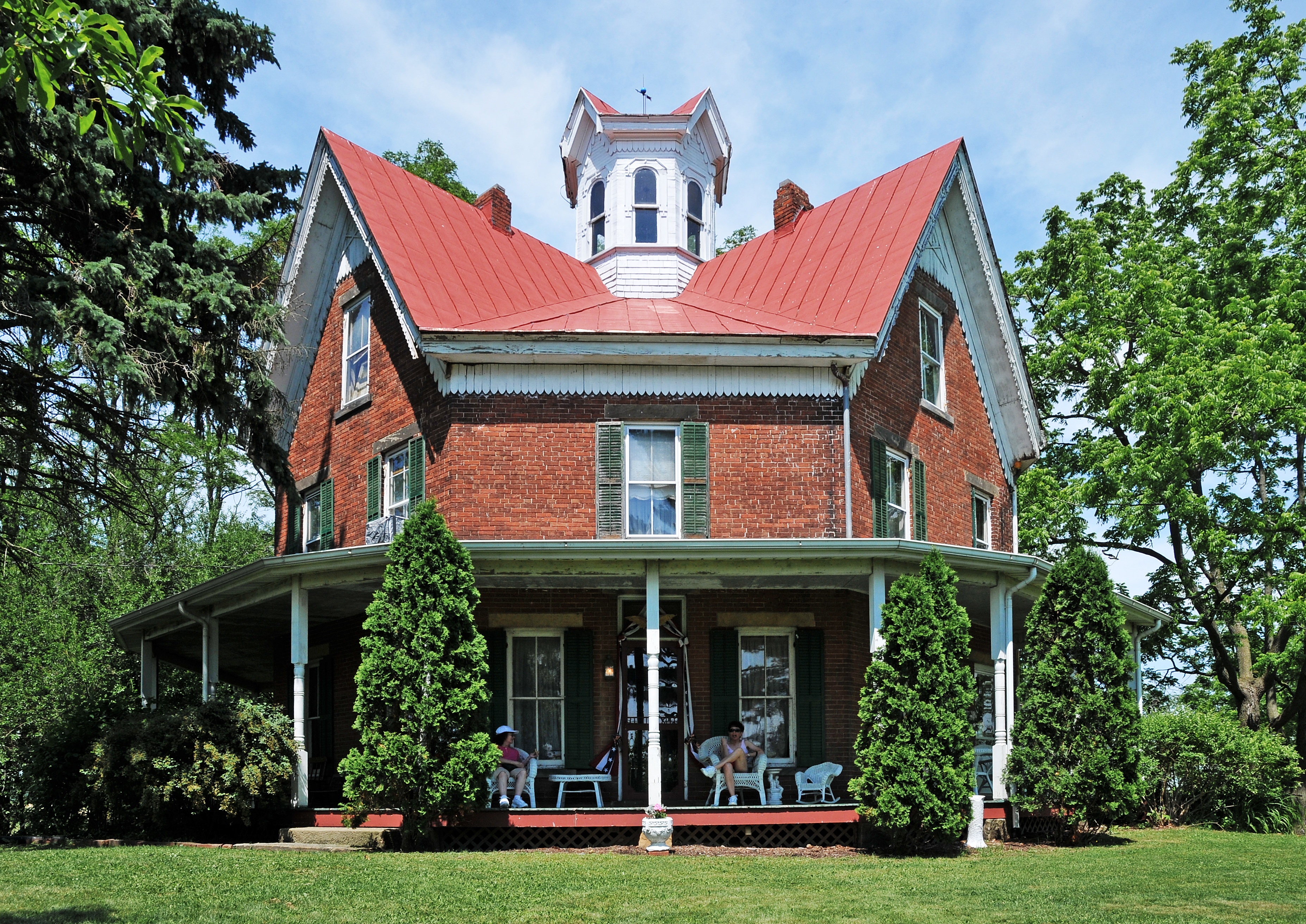Filethe Octagon House  Jpg Wikimedia Commons