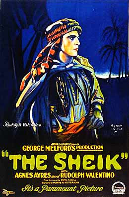 "English: Poster for 1921 film ""The Sheik&..."
