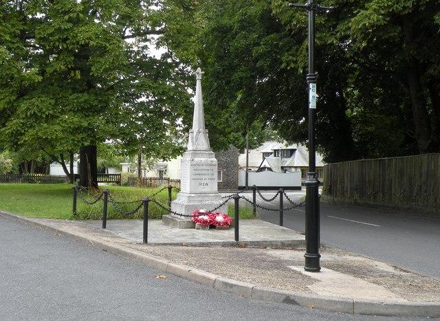 The Stetchworth War Memorial in Church Lane - geograph.org.uk - 1442689