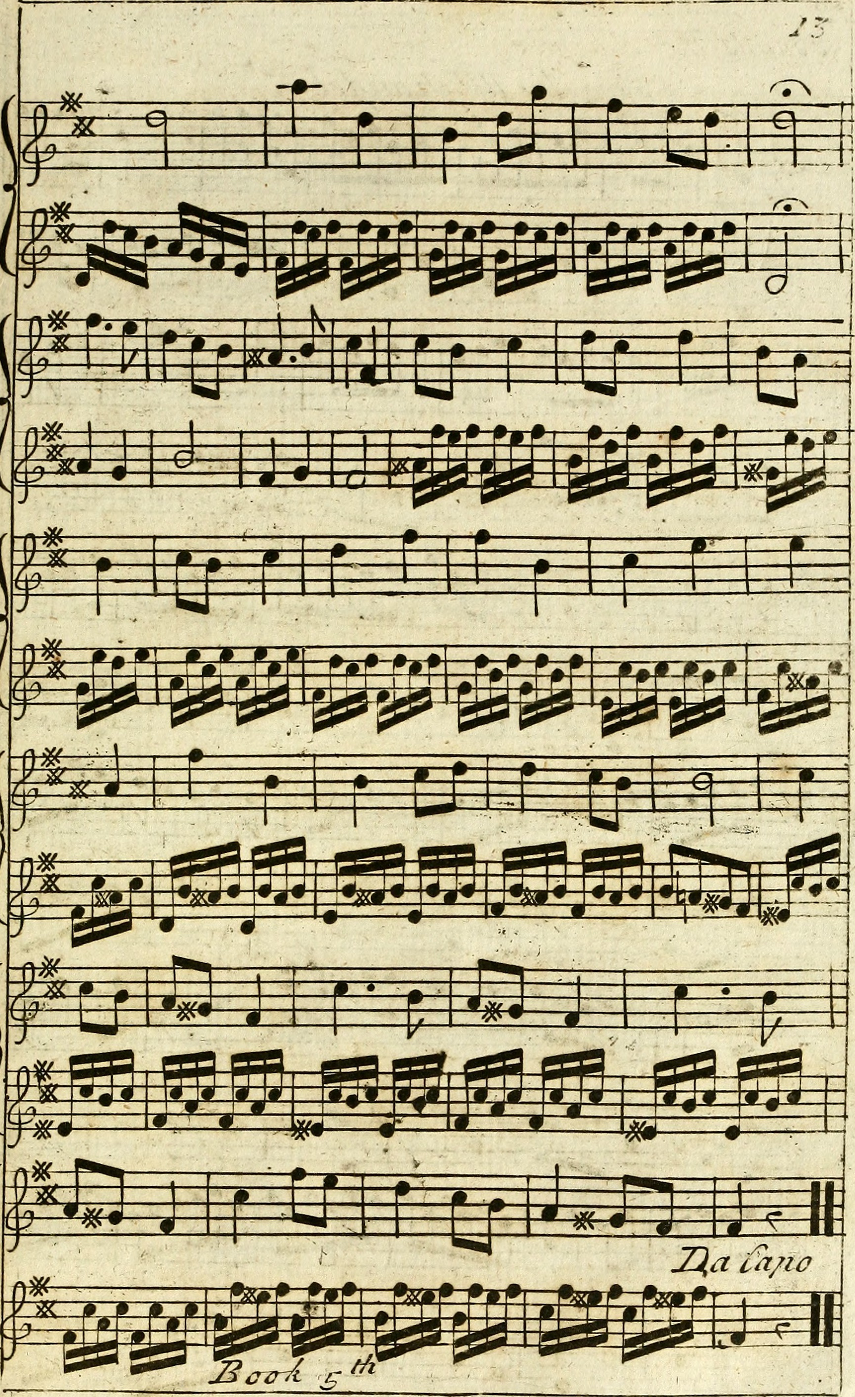 5e7075e3 File:The delightful pocket companion for the German flute - containing a  choice collection of the most celebrated Italian, English, and Scotch tunes  (1763) ...
