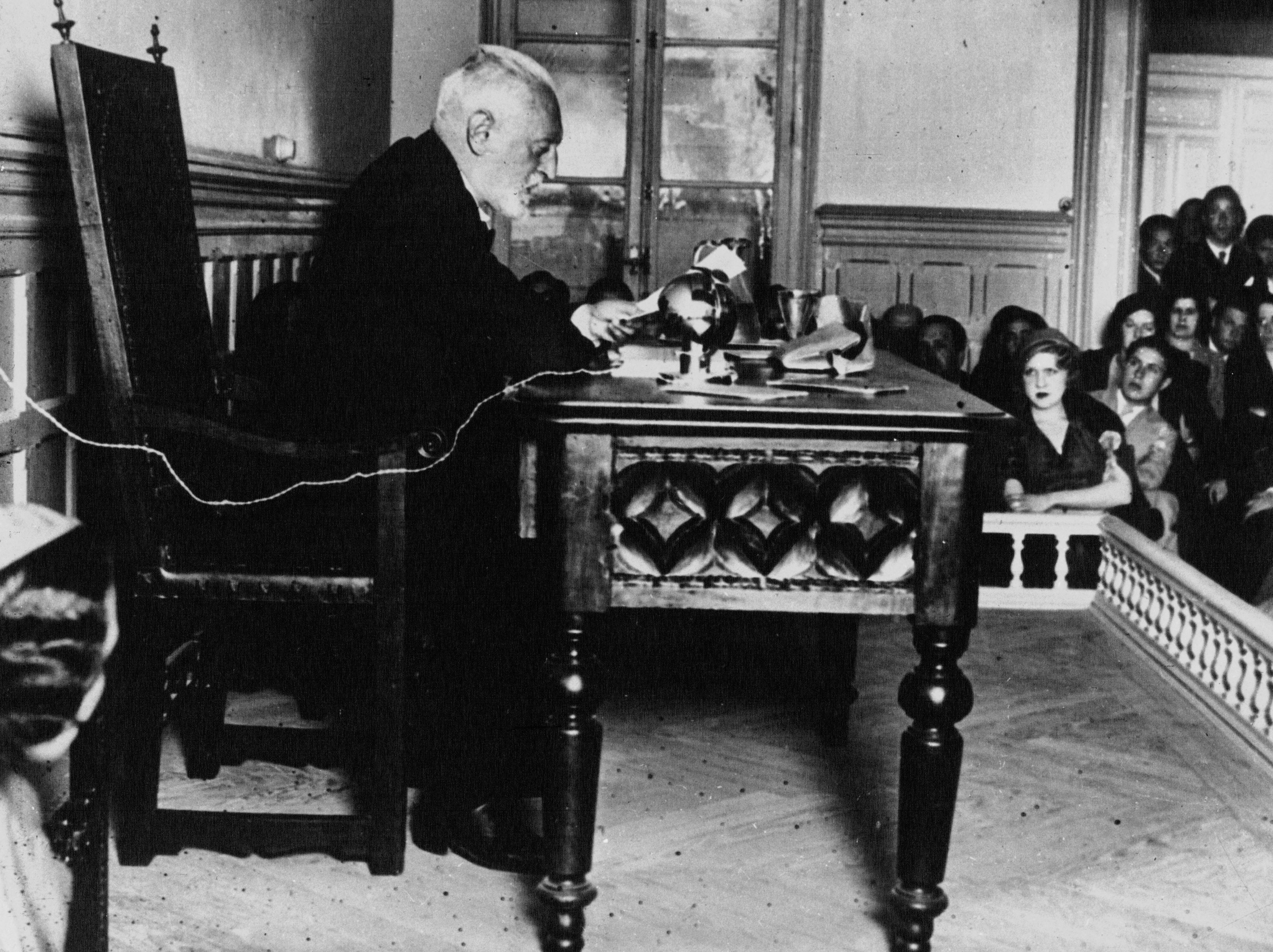 Conferencia de Unamuno en 1932