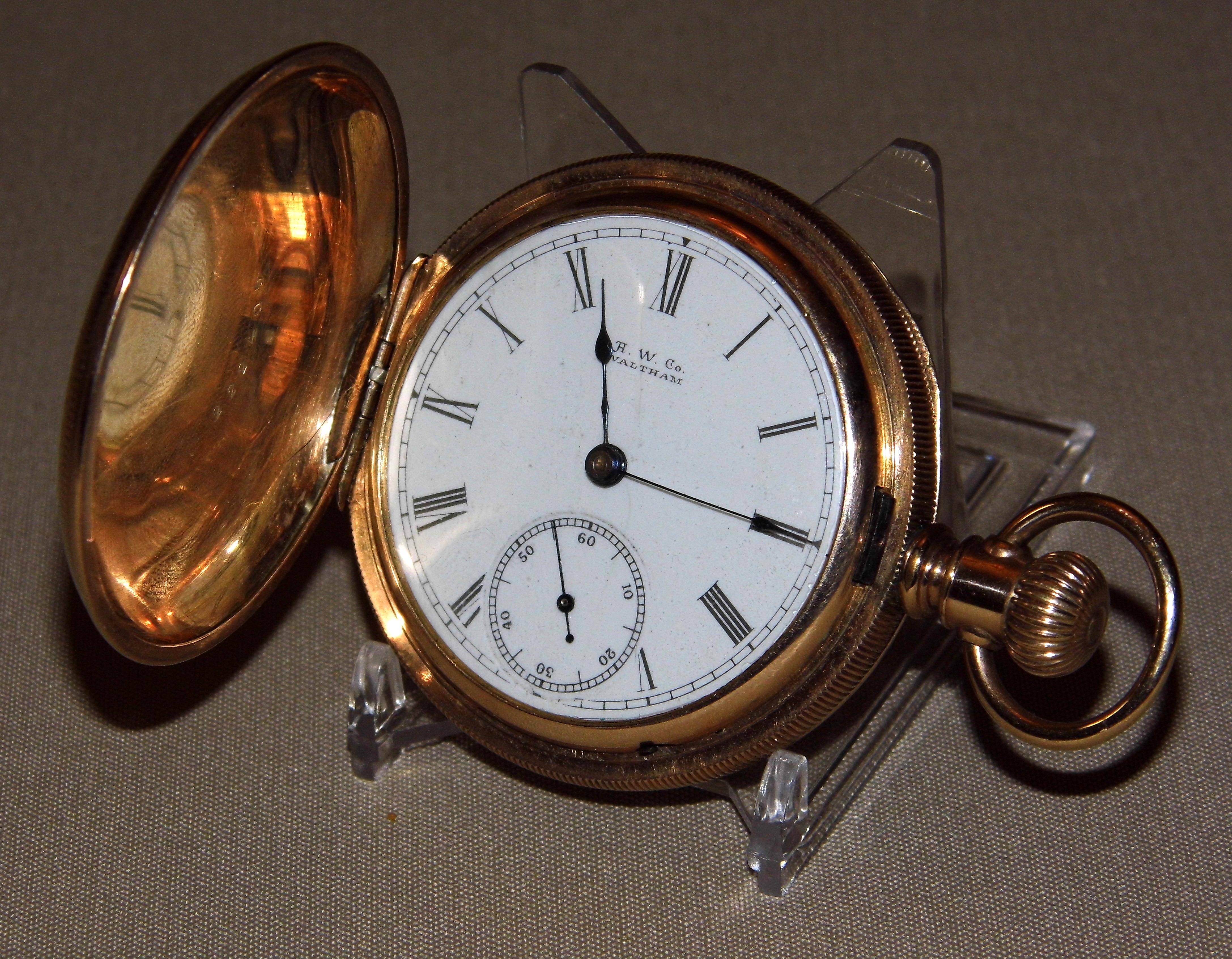 Dating American Waltham Pocket horloges