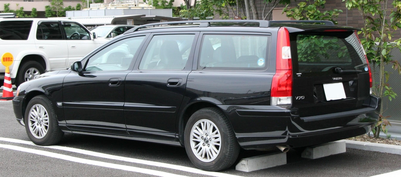 File Volvo V70 Rear Jpg Wikimedia Commons