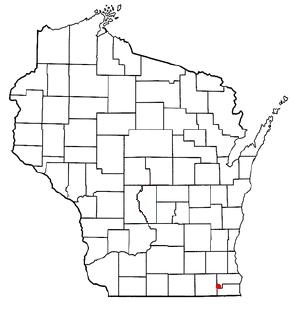 Bohners Lake, Wisconsin CDP in Wisconsin, United States