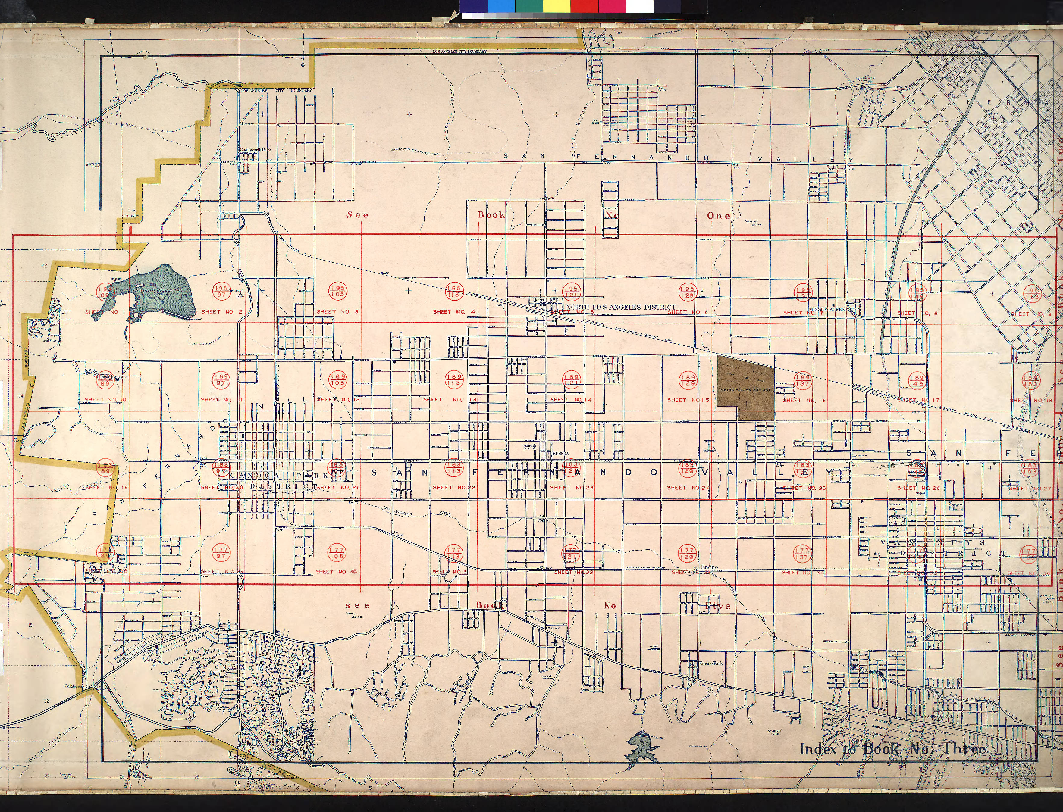 FileWPA Land Use Survey Map For The City Of Los Angeles Book - Los angeles map districts