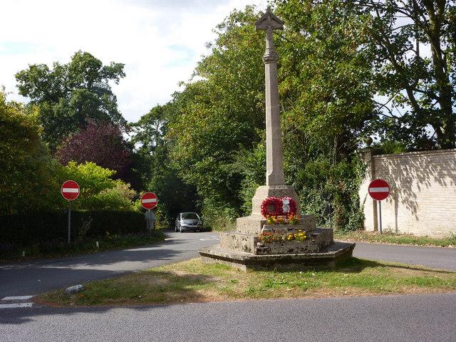 War memorial, East Bergholt - geograph.org.uk - 1481505