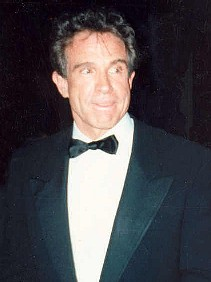 Warren Beatty under Oscarsgalan 1990.
