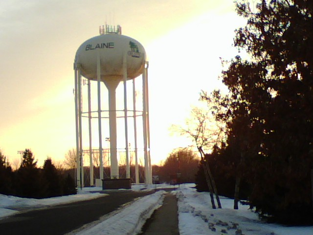 City Of Blaine No Water