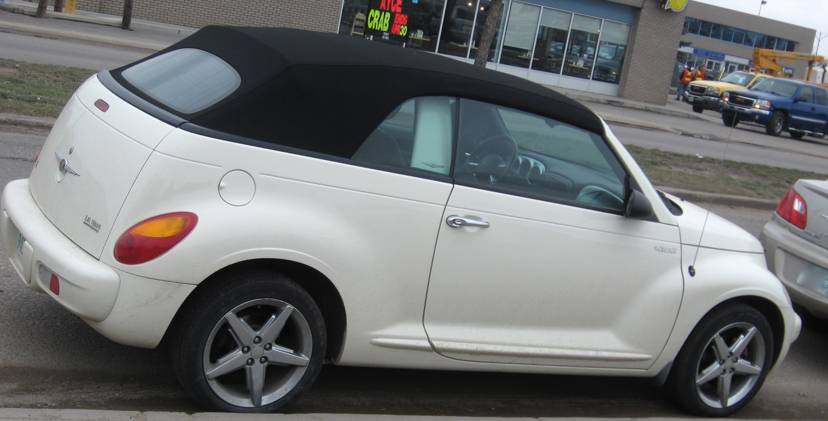File White Chrysler Pt Cruiser Convertible Jpg