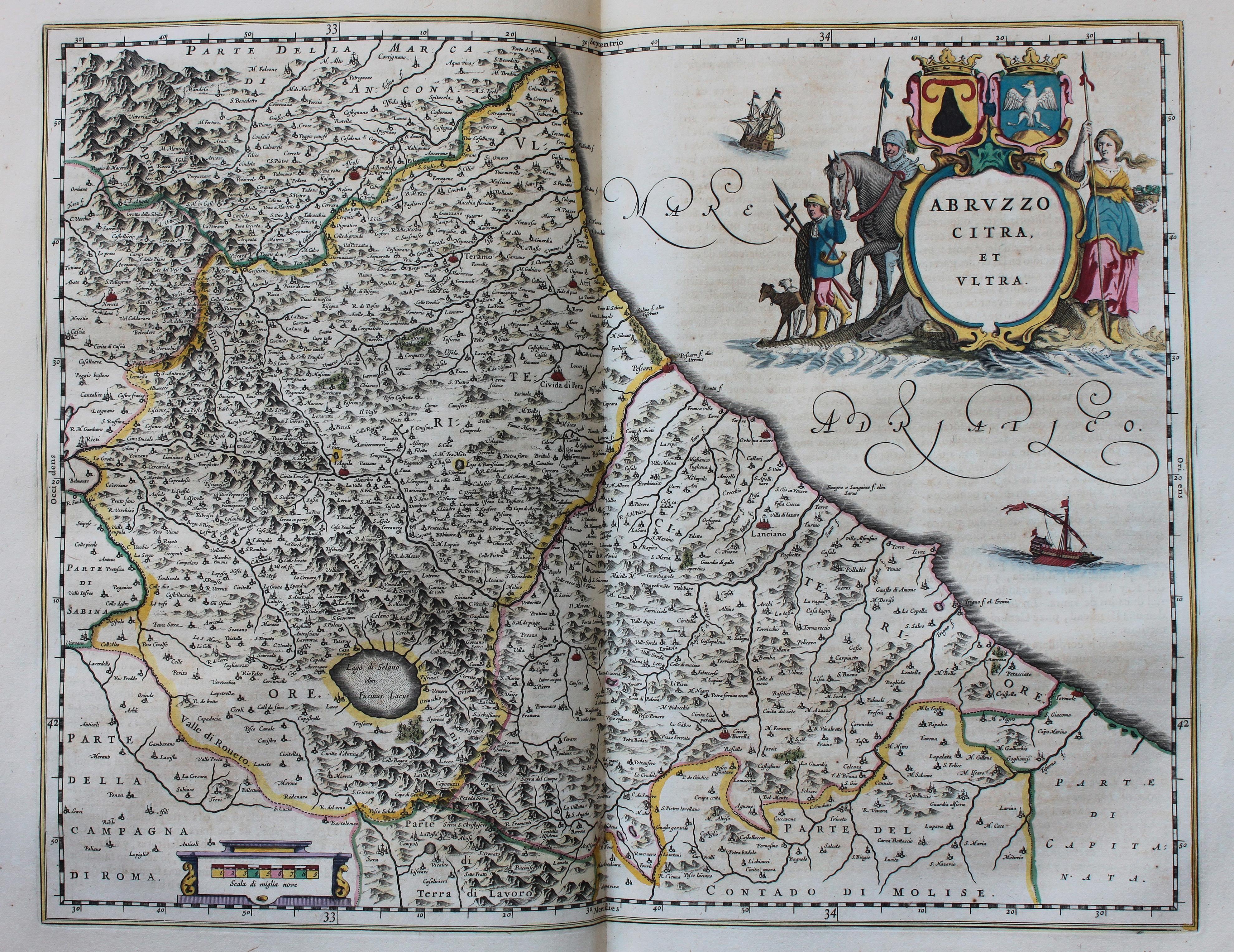 Cartina Geografica Provincia Di Teramo.Cronologia Della Storia Dell Abruzzo Wikipedia