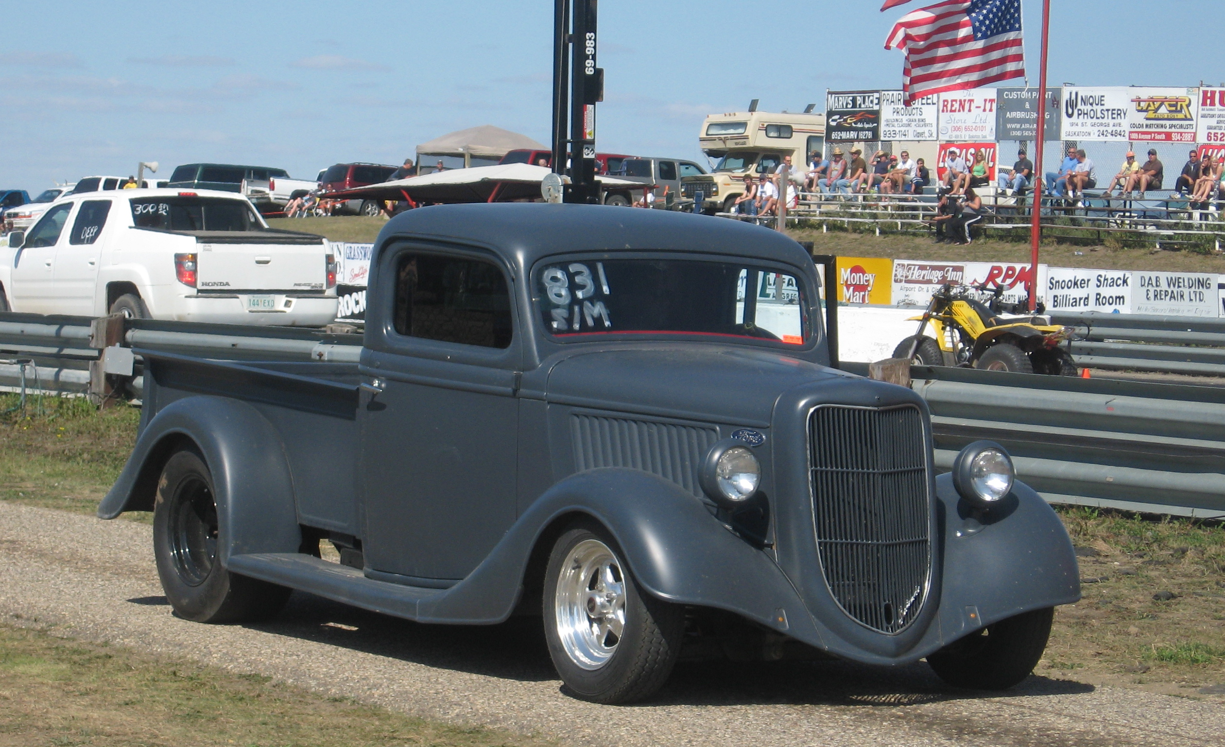 ford pickup dragster