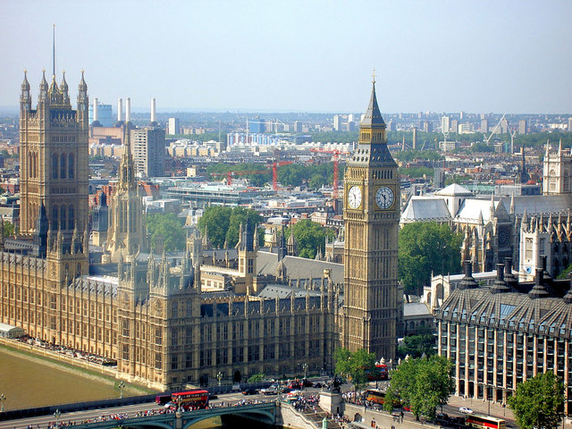 File:'Big Ben' and London skyline from the London Eye. - geograph.org.uk - 486766.jpg