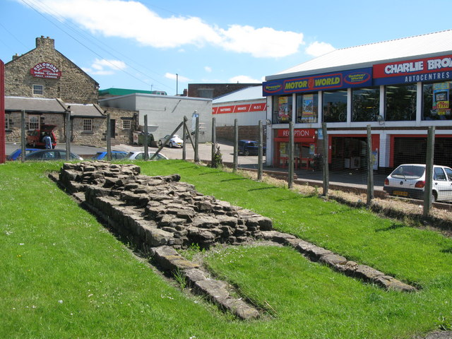 (Part of) Hadrian's Wall (2) - geograph.org.uk - 837930