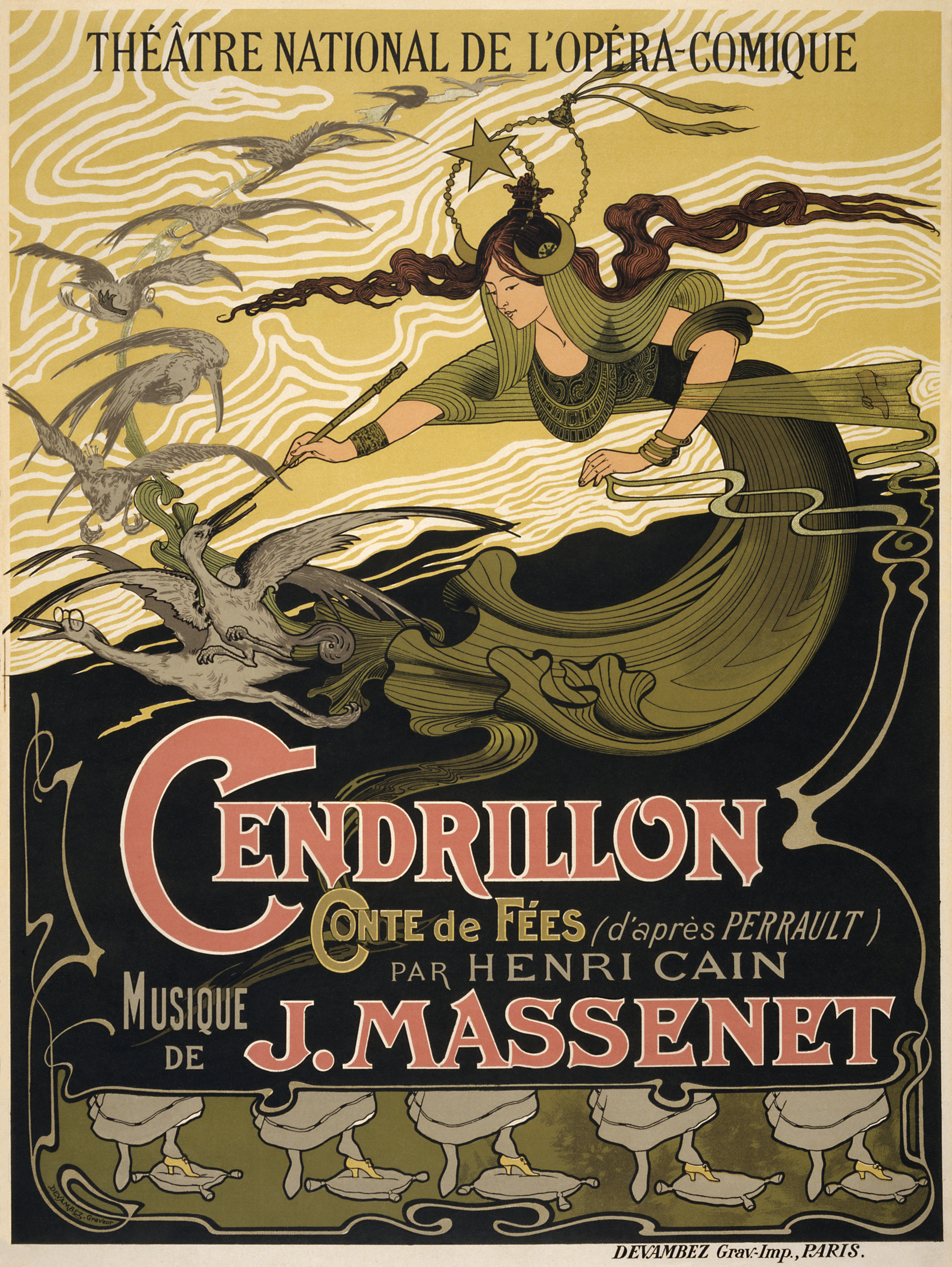 Opera Sheet Music Vocal Score Vocal Score Cendrillon Jules Massenet