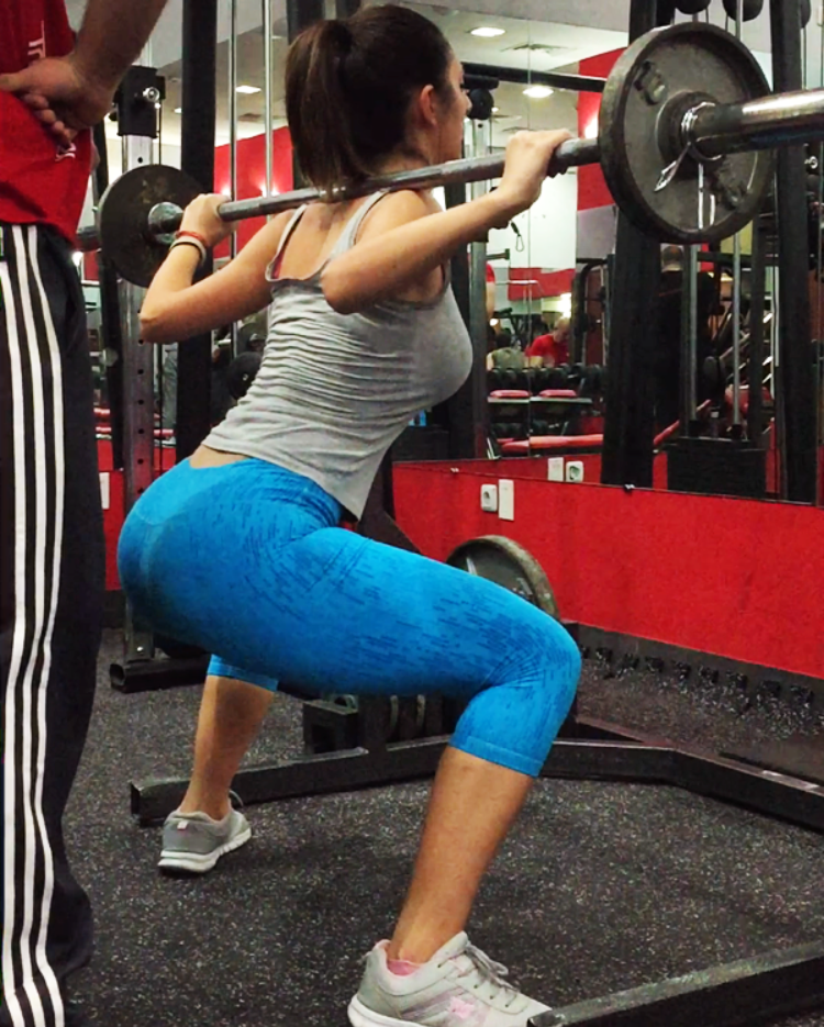 101 Armenian Woman Exercising Shoulder Back Press.png