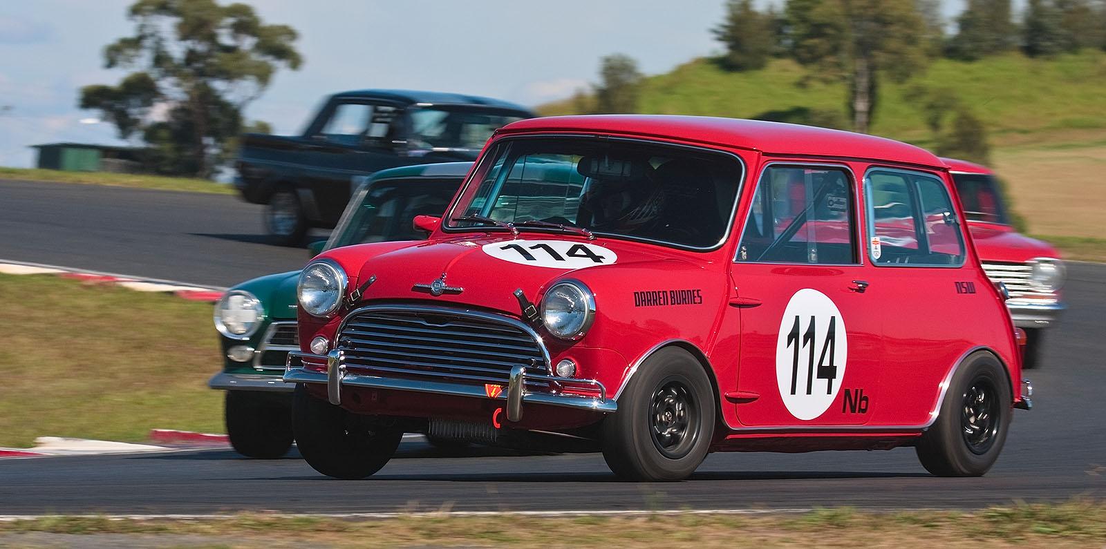 Mini Cooper Rally Car
