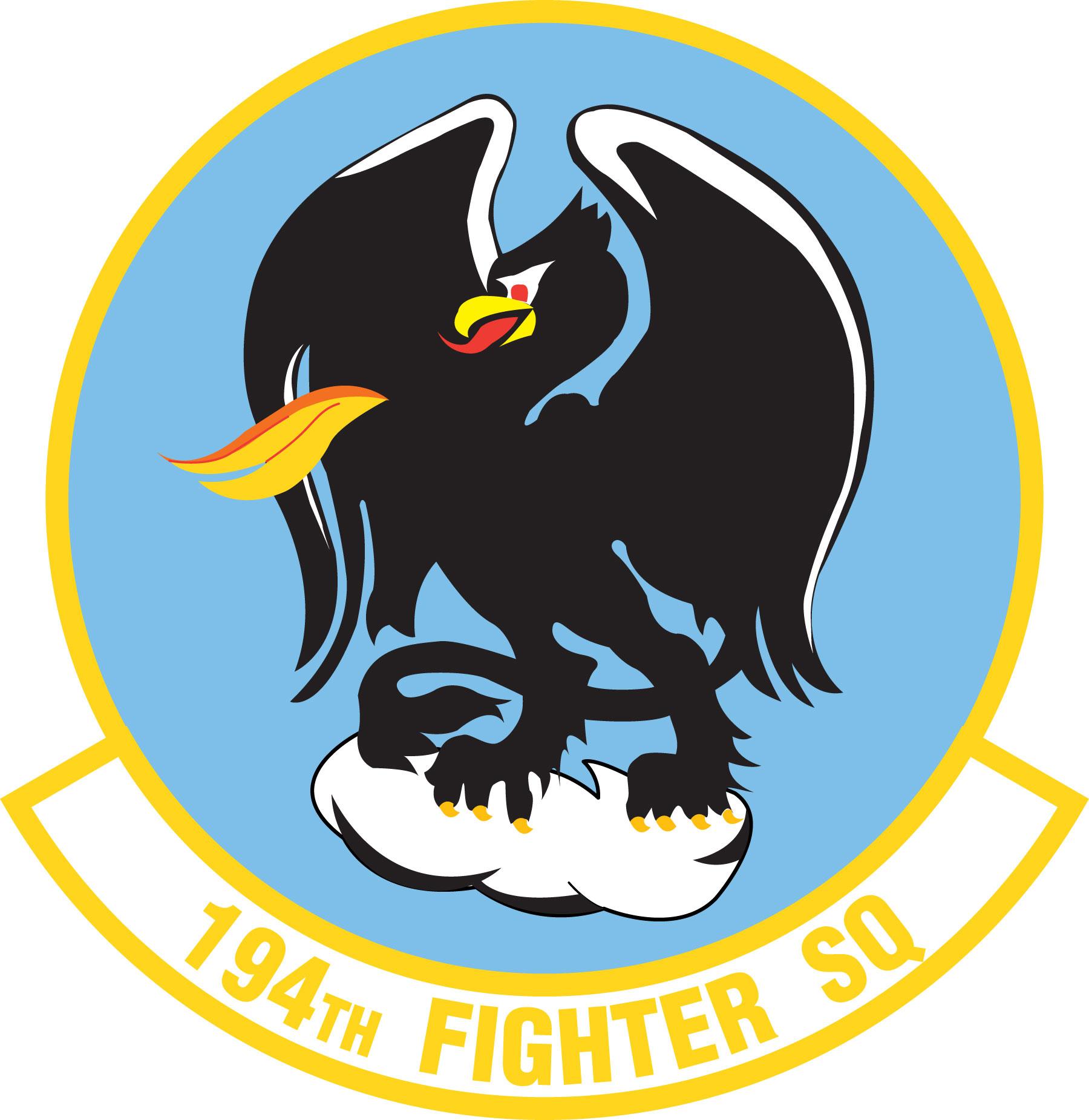 Fighter Squadron Logos 194th Fighter Squadron