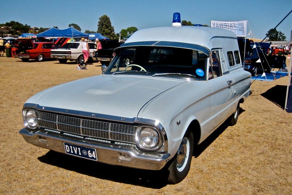 1964 Ford XM Falcon Police Van