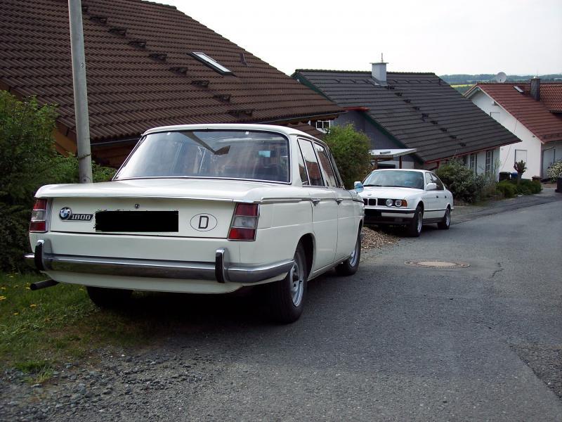 BMW 1800 1966 Technische Daten  Zwischengas