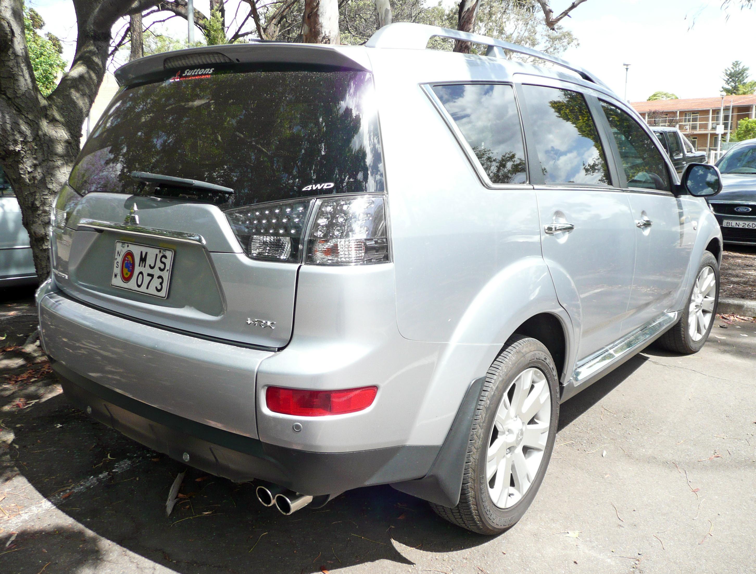 Mitsubishi Outlander  Installing Rd Row Car Seat