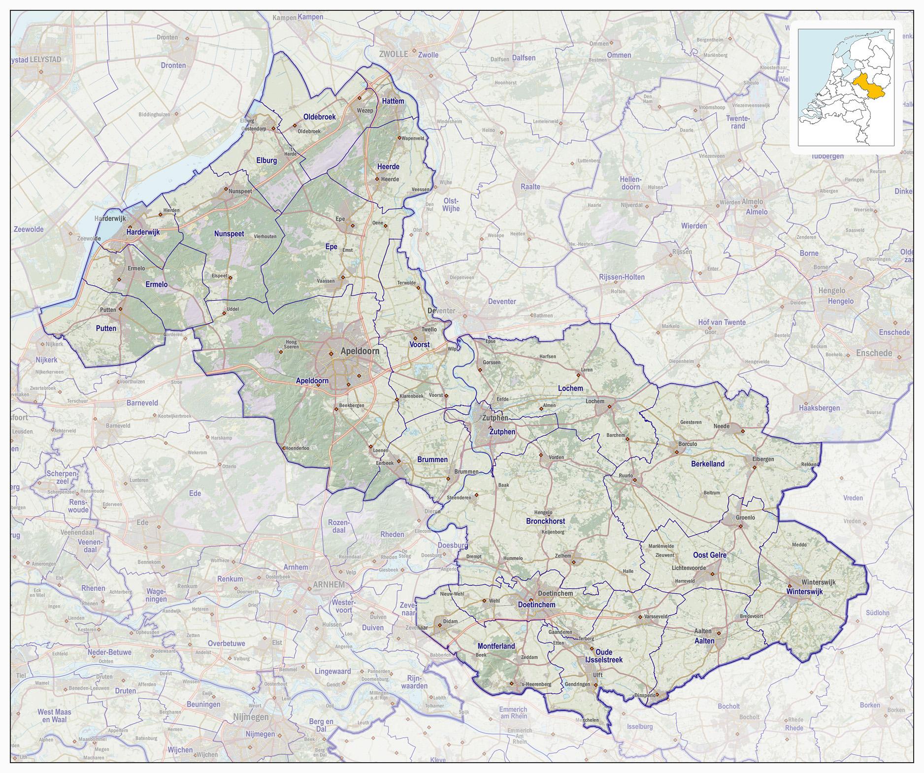Veiligheidsregio Noord En Oost Gelderland Wikipedia