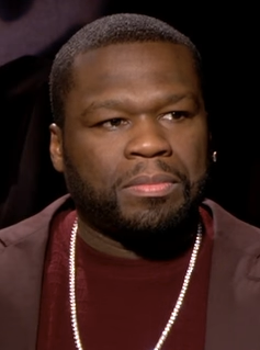 The 46-year old son of father (?) and mother Sabrina Jackson 50 Cent in 2021 photo. 50 Cent earned a 25 million dollar salary - leaving the net worth at 270 million in 2021